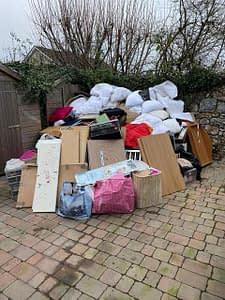 House waste clearance from Crediton