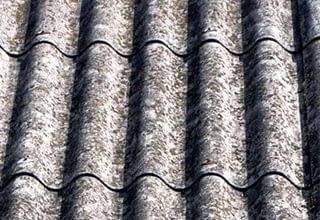 Asbestos roof sheets